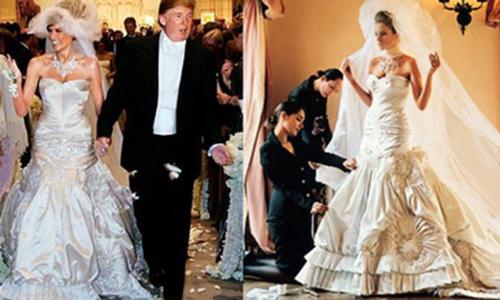Váy cưới của 14 Đệ nhất phu nhân Mỹ