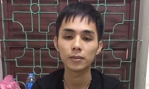 Nghi can chém tài xế ở Vinh bị bắt khi về quê thăm bạn gái