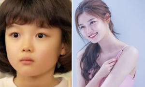Những sao nhí Hàn 'lột xác' thành thiếu nữ xinh đẹp, quyến rũ