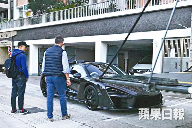 Xe mới trong bộ sưu tập xế tiền tỷ của Quách Phú Thành.