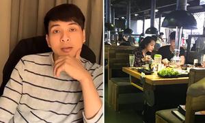 Hồ Quang Hiếu livestream thừa nhận đi ăn riêng với Bảo Anh