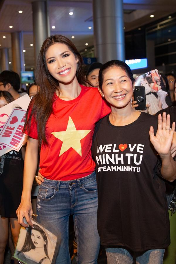 Minh Tú rủ fan đi bão ngay khi trở về từ Miss Supranational - 1