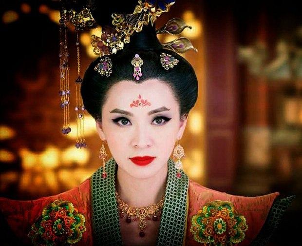 Trần Vỹ vai Thái Bình Công Chúa phim Thâm cung kế.