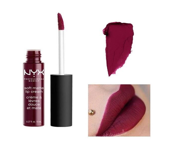 Son kem NYX soft matte lip cream Copenhagen SMLC20