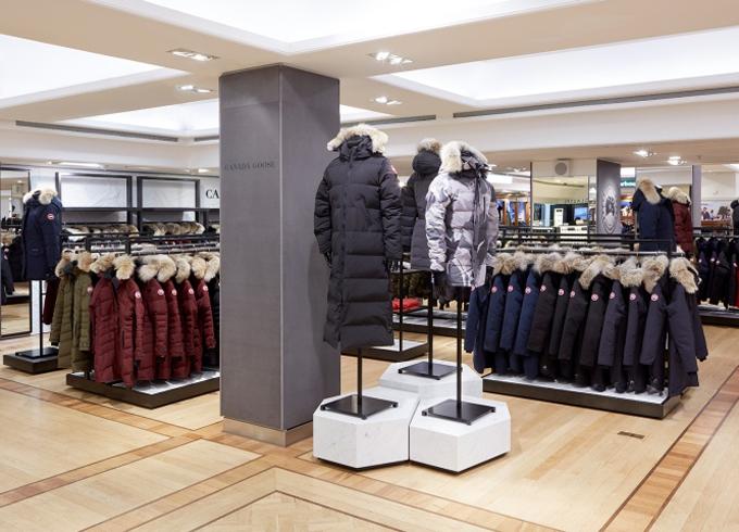 Các kiểu áo khoác mùa đông của CanadaGoosee. Ảnh: Gooseee.