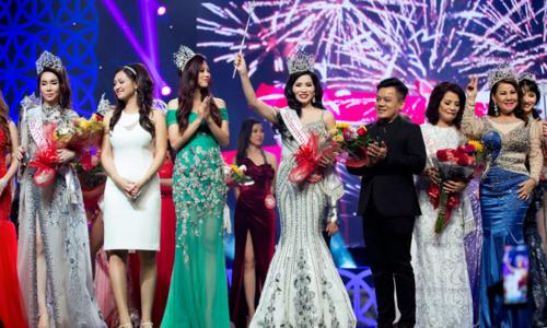 Cao Thị Thùy Dung đăng quang Hoa hậu Doanh nhân người Việt tại Mỹ
