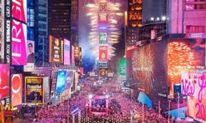 Đón năm mới ở Quảng trường Thời đại - trải nghiệm khó quên trong đời