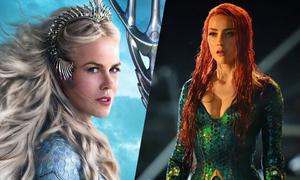 Amber Heard, Nicole Kidman đẹp 'không góc chết' trong 'Aquaman'