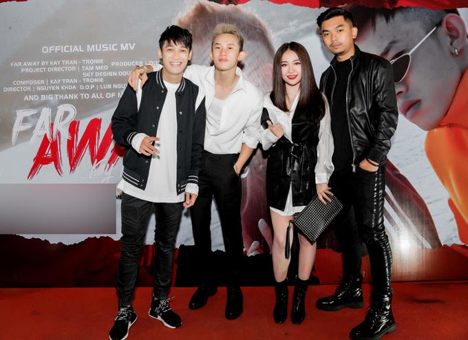 MiA ủng hộ Kay Trần và Tronie kết hợp thực hiện MV mang màu sắc trẻ trung, hiện đại.