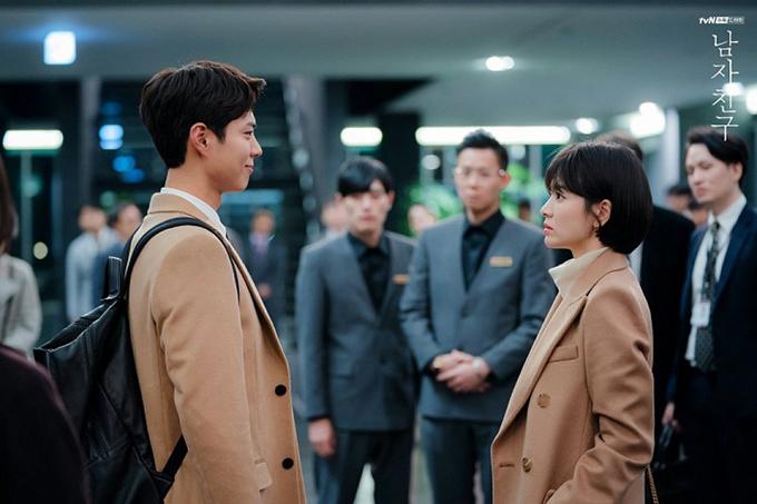 Jin Hyuk và Soo Hyun ngày càng thân mật.