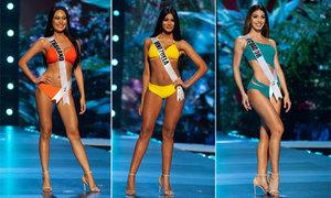 Thí sinh Miss Universe khoe trọn đường cong trong bán kết