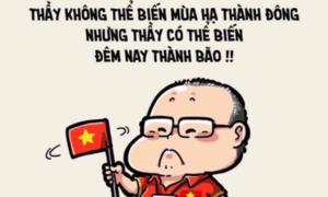 Ảnh chế của fan mừng Việt Nam vô địch ngập mạng xã hội