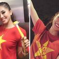 Sao Việt xuống đường 'đi bão' cùng hàng triệu người hâm mộ