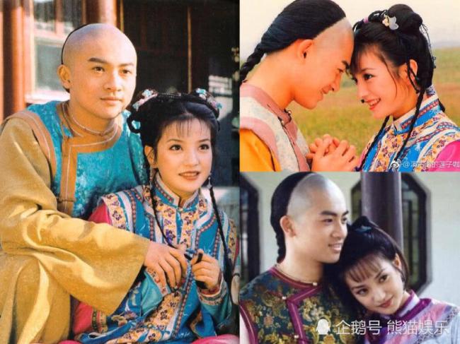 Hình ảnh Triệu Vy, Tô Hữu Bằng trong Hoàn Châu Cách cách 20 năm trước.