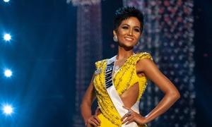 H'Hen ấp úng nói tiếng Việt ở tổng duyệt Miss Universe