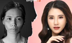 Sau thẩm mỹ, 9x Nam Định được ví xinh như hoa hậu chuyển giới Thái Lan