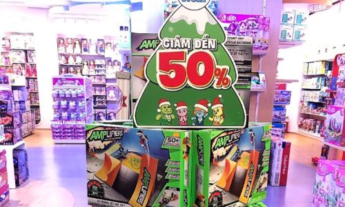 tiNiStore ưu đãi đến 50% các sản phẩm cho bé dịp Giáng sinh