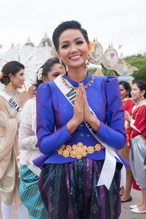HHen Niê nổ lực toả sáng ở Miss Universe (em đẩy lại bài hoàn chỉnh) - 8