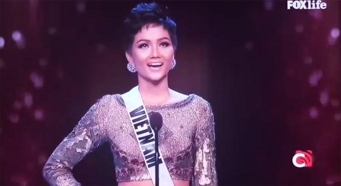 Chung kết Hoa hậu Hoàn vũ 2018: HHen Niê vào Top 20