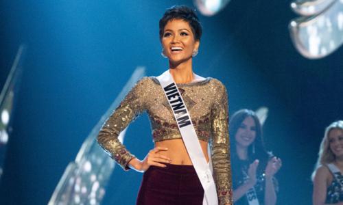 H'Hen Niê nóng lòng mừng thành tích lịch sử của VN tại Miss Universe