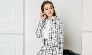 Lã Thanh Huyền hóa nàng công sở cá tính với trang phục của NEVA