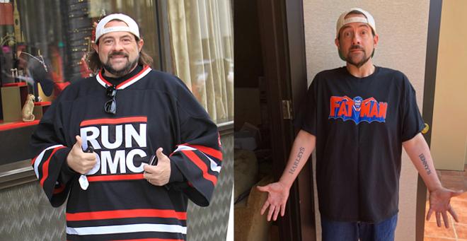Kevin Smith buộc phải thay đổi chế độ ăn uống để bảo vệ sức khỏe.