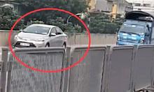 Lùi nửa km trên cao tốc, tài xế ôtô bị phạt một triệu đồng