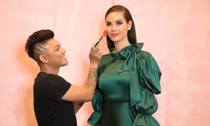 Makeup Phúc Nghĩa tiết lộ hậu trường làm đẹp cho tân Hoa hậu Hoàn vũ