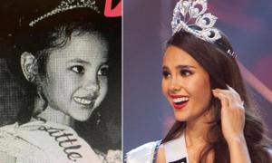 Tân Hoa hậu Hoàn vũ xinh đẹp từ bé