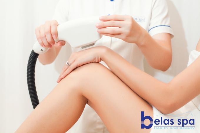Đại diện Belas cho biết, cơ sở làm đẹp chỉ thực hiệndịch vụ triệt lông công nghệ cao để tránh những tổn hại đến khách hàng.