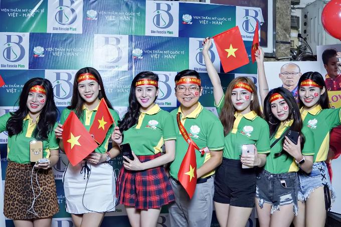 Chuyên gia thẩm mỹ Việt mừng chiến thắng