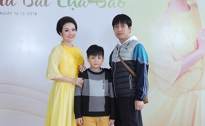 Gia đình nhỏ của ca sĩ Tân Nhàn.