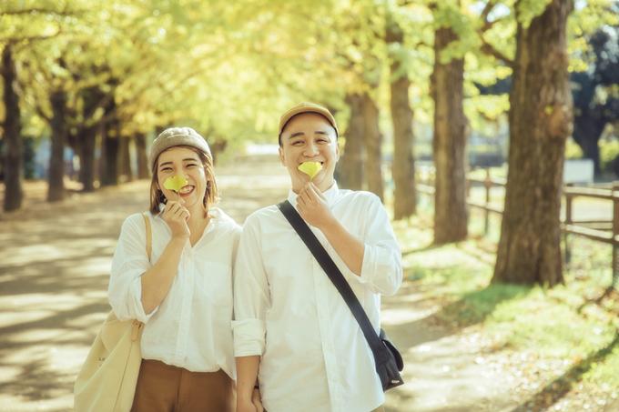 Ảnh cưới 15 triệu đồng giữa nắng thu Tokyo