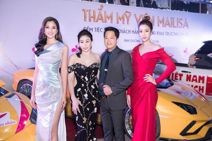 Tiểu Vy hội ngộ dàn Hoa hậu, Á hậu tại sự kiện làm đẹp - 2