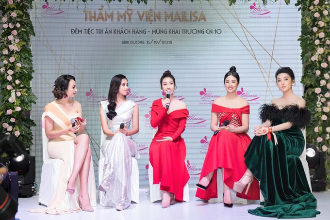 Tiểu Vy hội ngộ dàn Hoa hậu, Á hậu tại sự kiện làm đẹp - 3