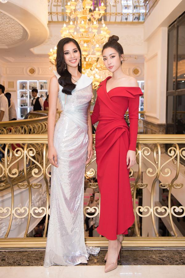 Tiểu Vy hội ngộ dàn Hoa hậu, Á hậu tại sự kiện làm đẹp - 7