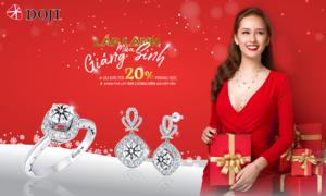 Trang sức lấp lánh cho nàng tỏa sáng dịp Giáng sinh