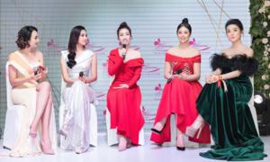 Tiểu Vy hội ngộ dàn Hoa hậu, Á hậu tại sự kiện làm đẹp
