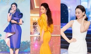 Việt Trinh, Hari Won và Hương Giang đọ sắc tại sự kiện 'Ngọc Dung mỹ hội'