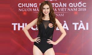 Hương Giang 'Sống chung với mẹ chồng' nổi bật tại Mrs Vietnam 2018
