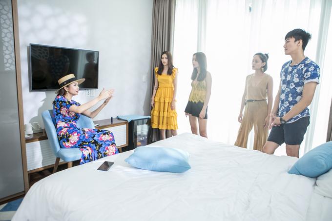 Giám khảo nhận xét cảm thấy thú vị khi xem video của team Thanh Hằng, đặc biệt là tính kết nối giữa các cảnh quanh.