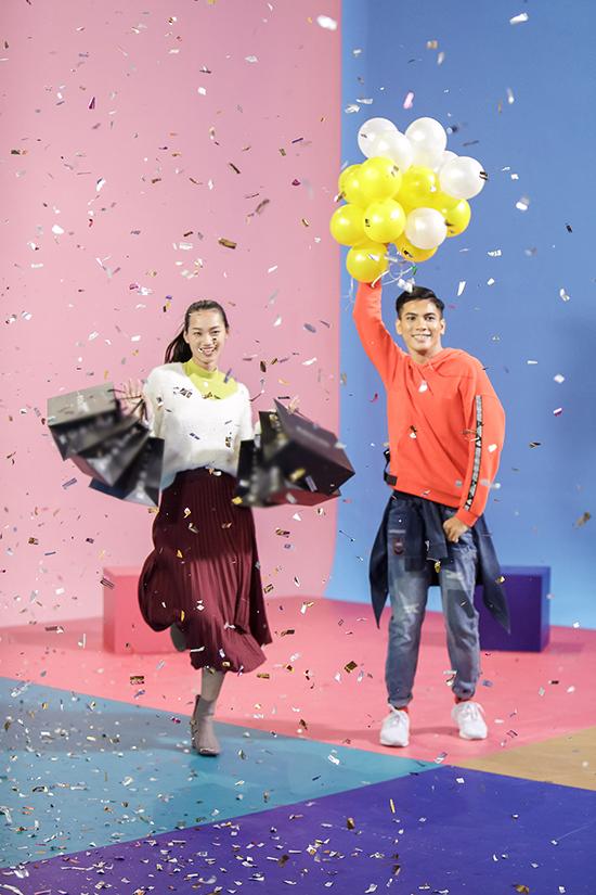Team Võ Hoàng Yến chỉ còn lại Quỳnh Anh và Tuấn Kiệt vì hạn chế về số lượng thí sinh nên đoạn video chưa đạt đúng yêu cầu nhãn hàng mong muốn.