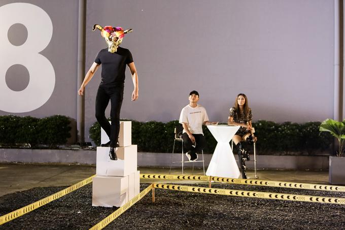 Sau bài học cùng Võ Hoàng Yến, các thí sinh sẽ phải tham gia thử thách catwalk ở phần master class.