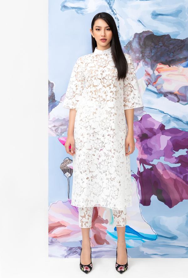 Thùy Tiên dự định năm nay sẽ mặc áo dài cách tân đi chơi Tết.