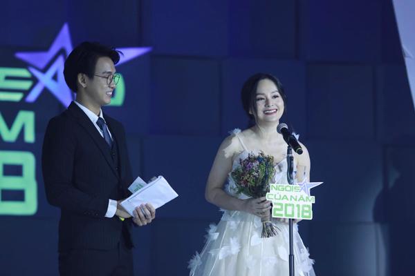 Lan Phương vượt qua dàn diễn viên Quỳnh búp bê để chiến thắng giải Ngôi sao điện ảnh.