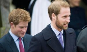Hoàng tử William khác lạ khi để râu quai nón trong loạt ảnh cũ
