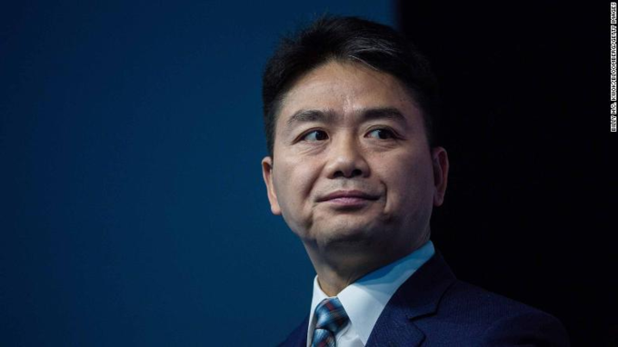 Lưu Cường Đông có 5,1tỷ USD. Ảnh:CNN.