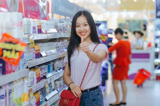 Chị Trương Thị Quỳnh Ly, khách hàng thân thiết của Big C Vinh cho biết thực phẩm tươi sống ở Big C rất tươi và ngon.