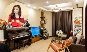 Căn hộ chung cư 110 m2 gần 5 tỷ đồng của NSƯT Tố Nga