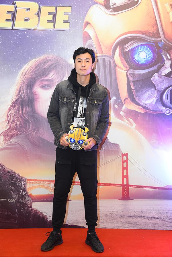 Diễn viên Vương Anh tham dự buổi chiếu phim tại Hà Nội.